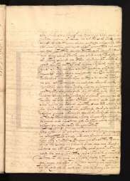 Isabel Gomes da Veiga, 1730. Private letter, ANTT/PS, PSCR0750. MAP Catalog Code: [0147]. Image source: ANTT/P.S.: http://ps.clul.ul.pt/pt/index.php?action=file&cid=xmlfiles/Revistas/ModernizadasTeitok/neotag_PT/PSCR0750.xml