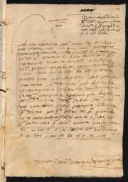 Vicência Jorge, 1591. Private letter, ANTT/PS, TSO-IL, 10755 / Projeto P.S. CARDS2253. MAP Catalog Code: [0150]. Image source: ANTT/P.S. - http://ps.clul.ul.pt/pt/index.php?action=file&cid=xmlfiles/Revistas/EdictorMerged/CARDS2253.xml